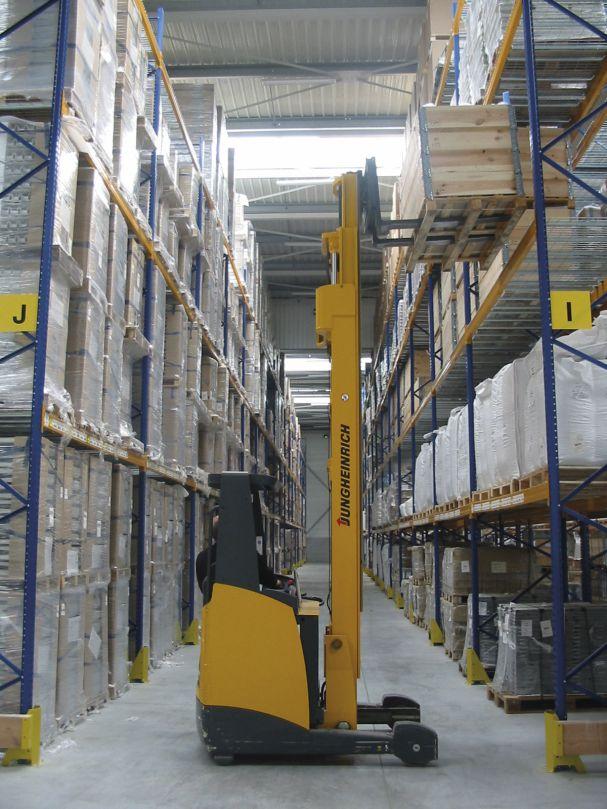 Photo montrant les techniques d'entreposage de Sitrans Logistique