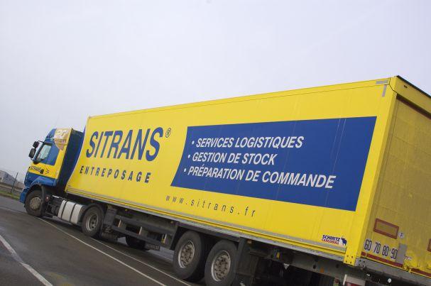 Photo d'un poids lourd Sitrans Logistique
